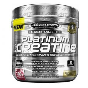 Muscletech - Essential Platinum 100% Creatine 400g