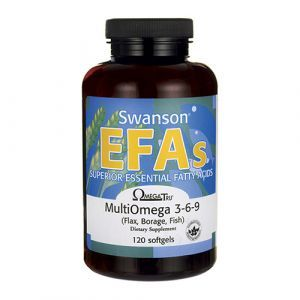 Swanson - EFAs Multi Omega 3 6 9 120 softgels