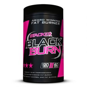 Stacker2Europe - Black Burn 120 capsules Fatburner