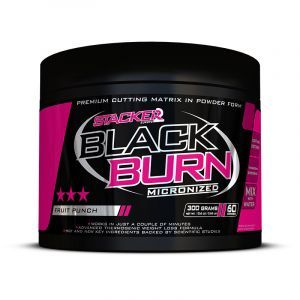Stacker2Europe - Black Burn Micronized 300g Fatburner