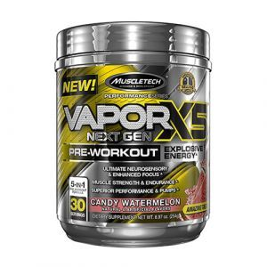 Muscletech - Performance Series VAPOR X5 NEXT GEN 254g