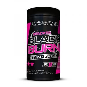 Stacker2Europe - Black Burn Stim Free 90 capsules