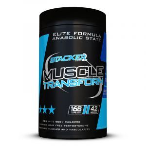 Stacker2Europe - Muscle Transform 168 Testo booster 168 capsules